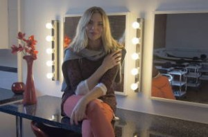 Sam Womack Checks out new training facilities at Chill Out
